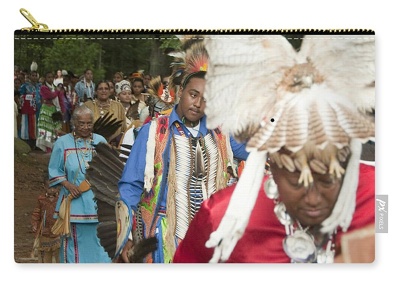 Photography Carry-all Pouch featuring the photograph Opening Procession by Steven Natanson