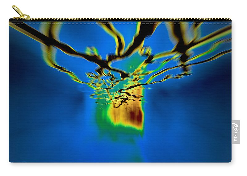 Optical Abstract Carry-all Pouch featuring the photograph Optic Nerve by S Paul Sahm