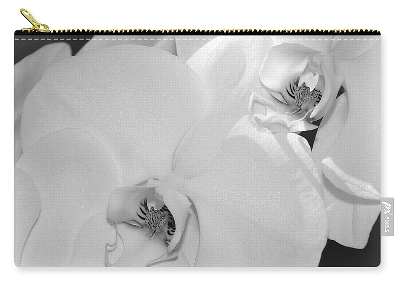 Bronstein Carry-all Pouch featuring the photograph Orchids by Sandra Bronstein