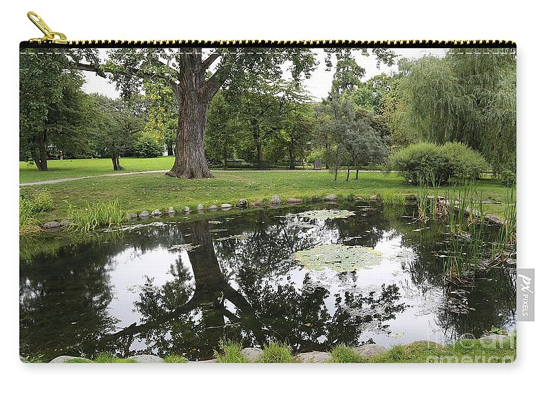 Oslo Carry-all Pouch featuring the photograph Oslo Park by Carol Groenen