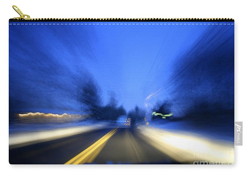 Abstract Carry-all Pouch featuring the photograph Outlaw by Neal Eslinger