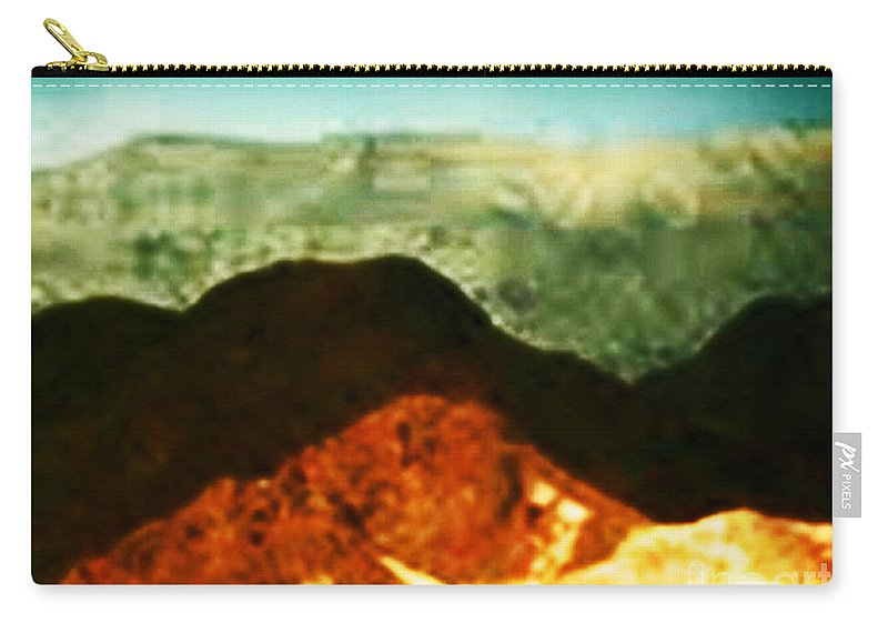Mountains Carry-all Pouch featuring the photograph Over The Hills We Go by Angela L Walker