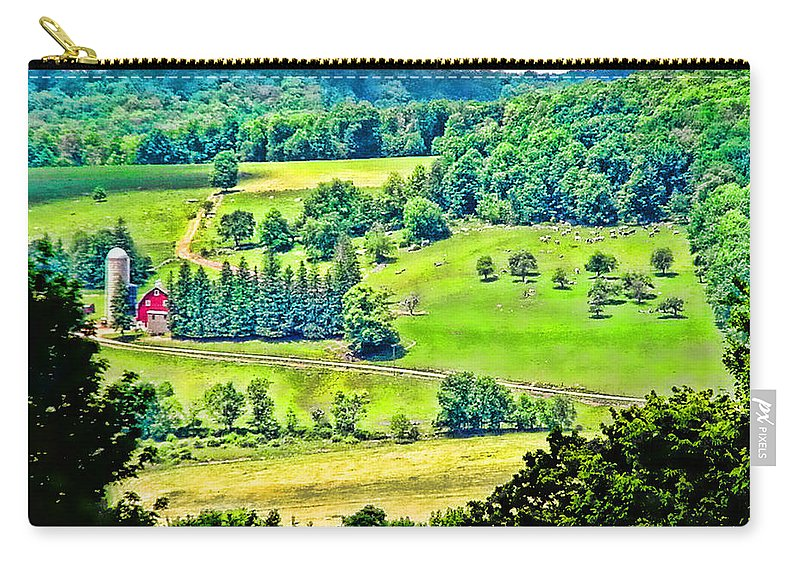 Ny Carry-all Pouch featuring the photograph Over Yonder by Ericamaxine Price