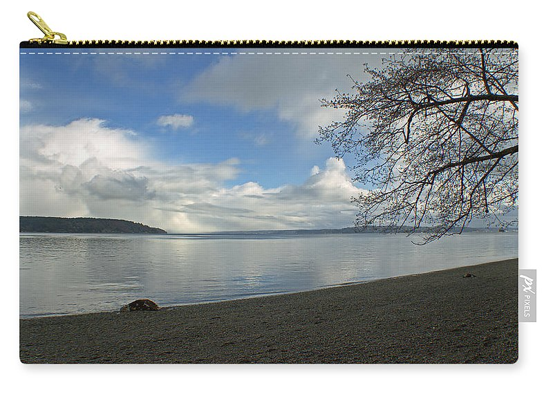 Landscape Carry-all Pouch featuring the photograph Owen Beach by Tikvah's Hope