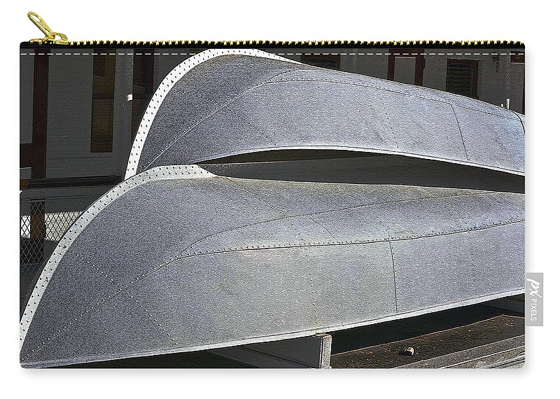 Paddle Wheeler Carry-all Pouch featuring the photograph Paddle Wheeler Lifeboats by Bill Owen