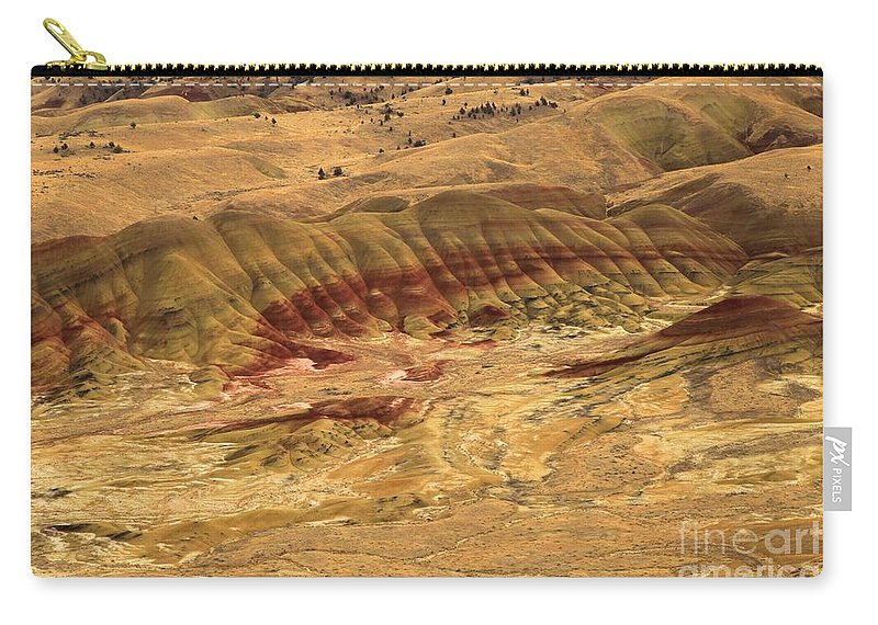 John Day Fossil Beds Carry-all Pouch featuring the photograph Painted Hills by Adam Jewell