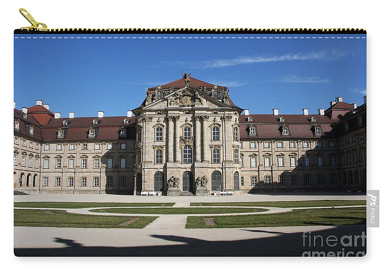 Palace Carry-all Pouch featuring the photograph Palace Weissenstein by Christiane Schulze Art And Photography
