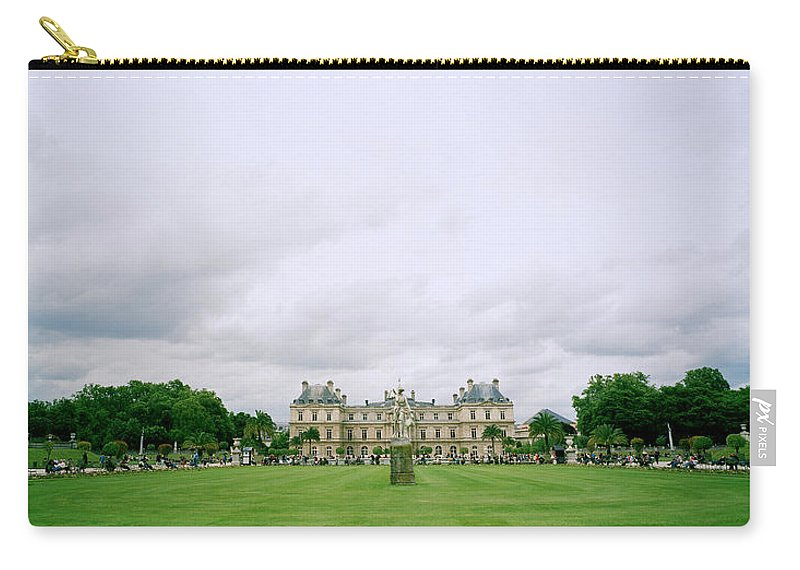 Paris Carry-all Pouch featuring the photograph Palais Du Luxembourg by Shaun Higson