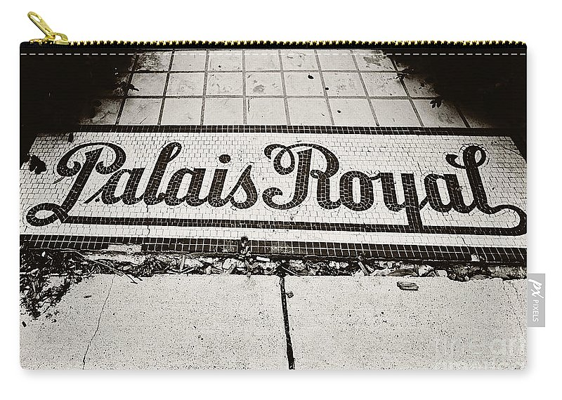 Palais Royal Carry-all Pouch featuring the photograph Palais Royal by Scott Pellegrin