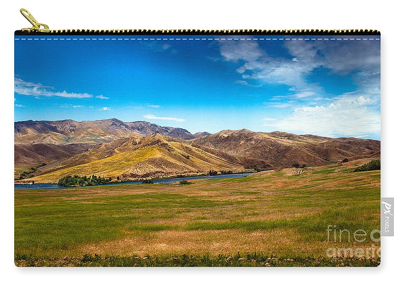 Landsacape Carry-all Pouch featuring the photograph Panoramic Range Land by Robert Bales