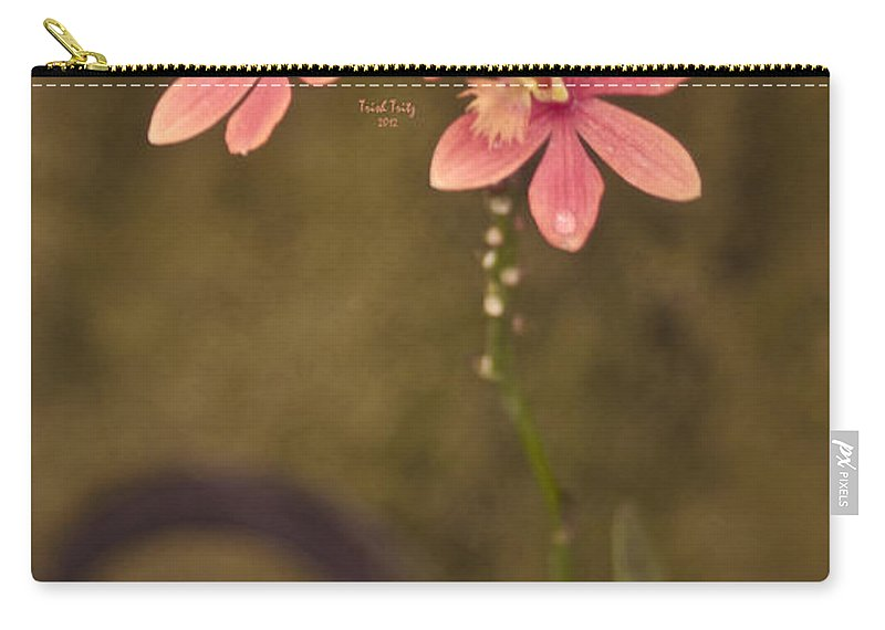 Flower Carry-all Pouch featuring the photograph Passionate Pink by Trish Tritz