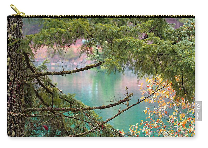 Lake Carry-all Pouch featuring the photograph Pastels Emphasized by Marie Jamieson