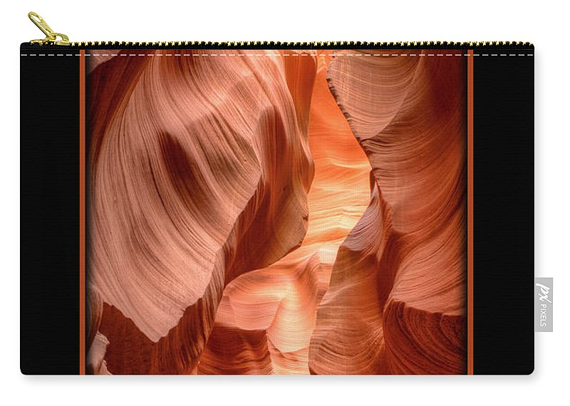 Antelope Canyon Carry-all Pouch featuring the photograph Pathway by Larry White