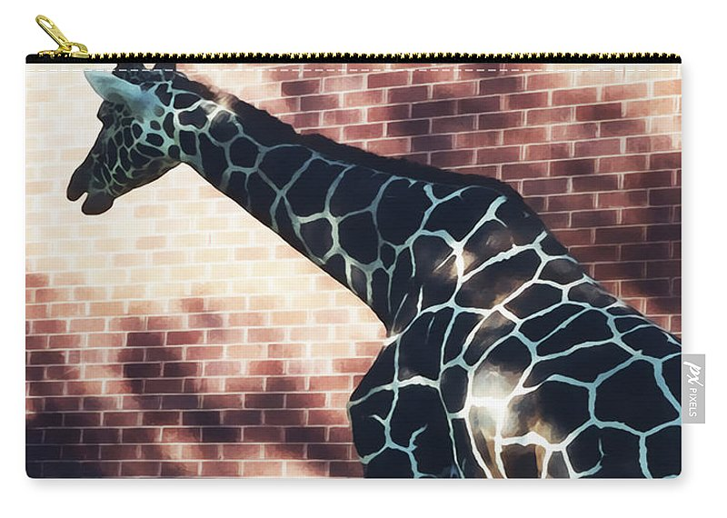 Pattern Carry-all Pouch featuring the photograph Patterns by Terry Fiala