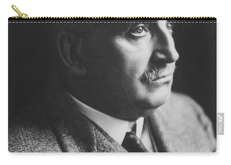 19th Century Carry-all Pouch featuring the photograph Paul Claudel (1868-1955) by Granger