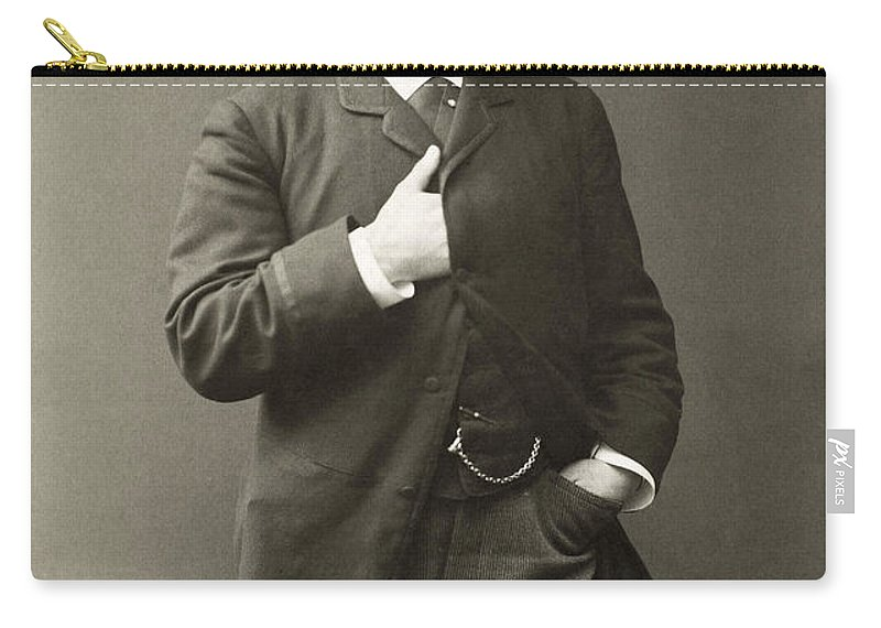 1885 Carry-all Pouch featuring the photograph Paul Von Heyse (1830-1914) by Granger