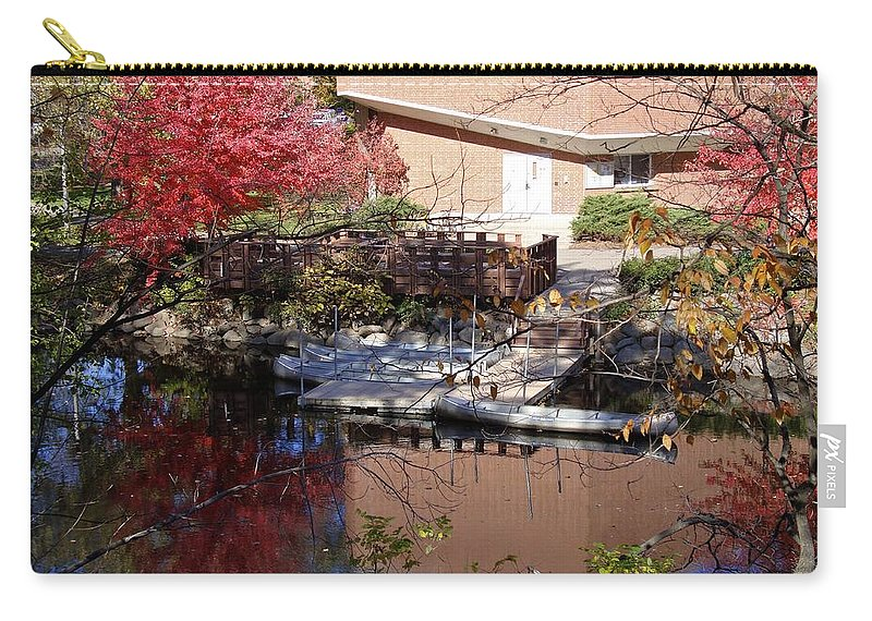 Canoe Launch Carry-all Pouch featuring the photograph Peace by Joseph Yarbrough
