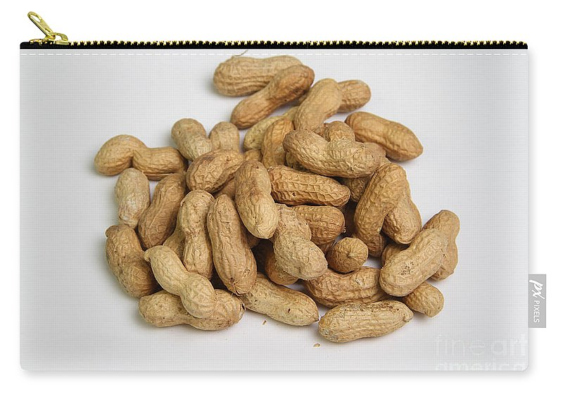 Allergic Carry-all Pouch featuring the photograph Peanuts by Photo Researchers, Inc.