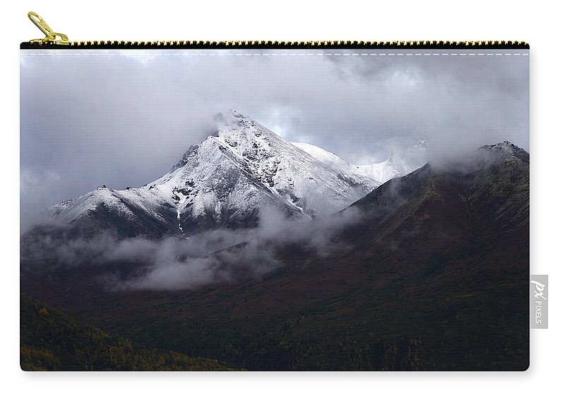 Doug Lloyd Carry-all Pouch featuring the photograph Peeking From The Clouds by Doug Lloyd