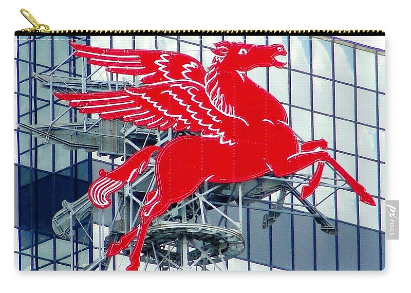 Mobil Carry-all Pouch featuring the photograph Pegasus by Charlie and Norma Brock