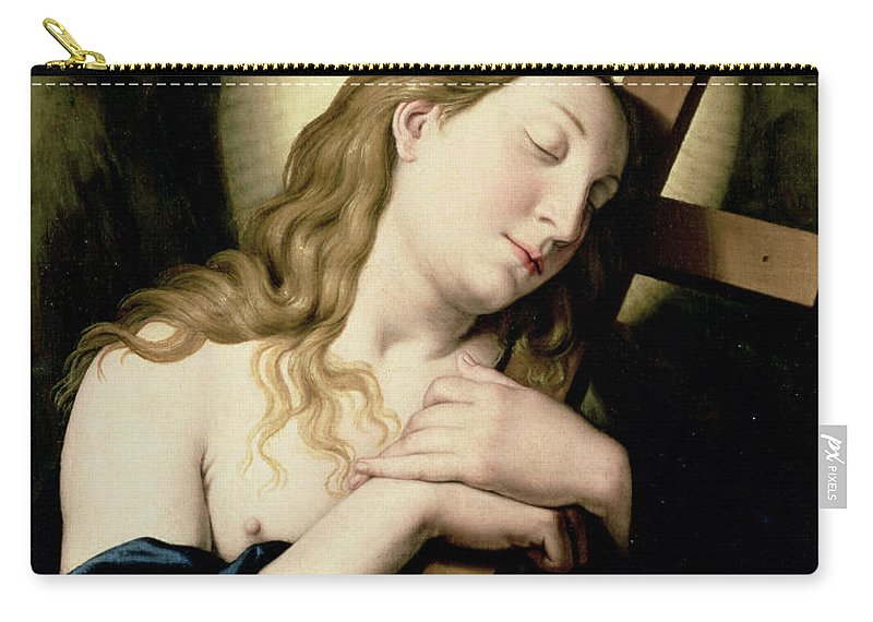 Religion Carry-all Pouch featuring the painting Penitent Magdalene by Il Sassoferrato