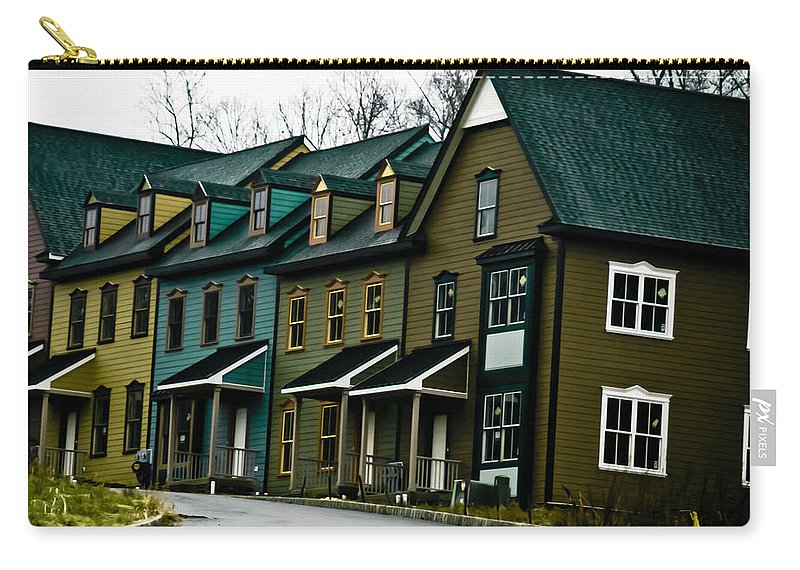 House Carry-all Pouch featuring the photograph Peter's Village by Trish Tritz