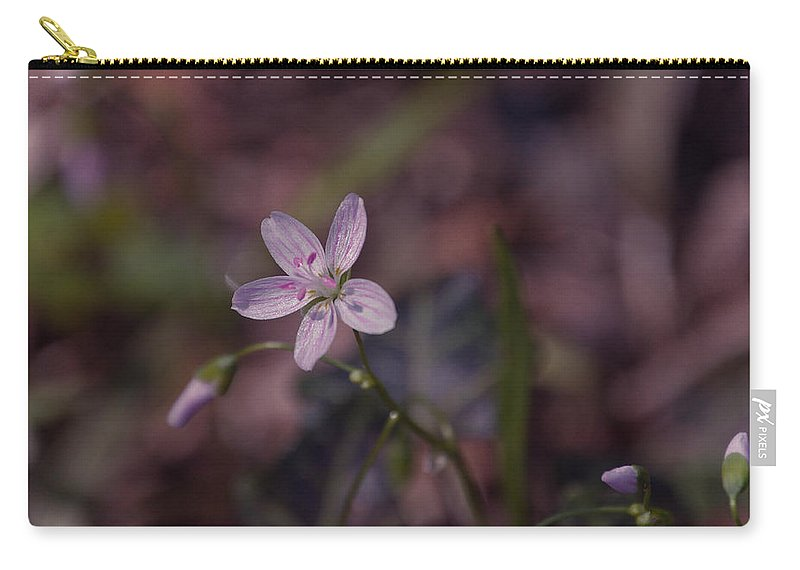 Flower Carry-all Pouch featuring the photograph Peyton's Petals by Trish Tritz