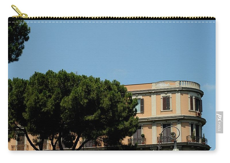 Italy Carry-all Pouch featuring the photograph Piazza Cavour by Joseph Yarbrough