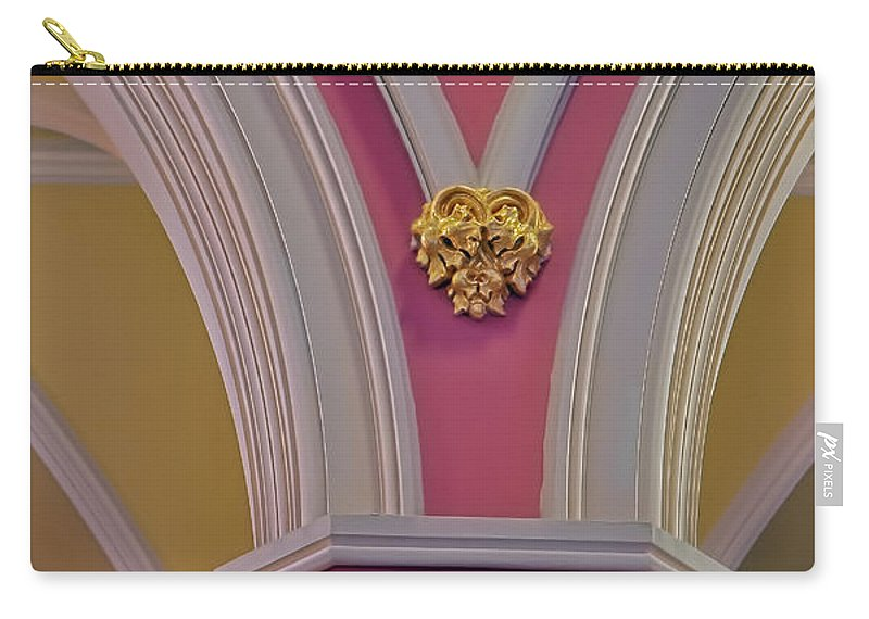 Pillar Carry-all Pouch featuring the photograph Pillar Details by Susan Candelario