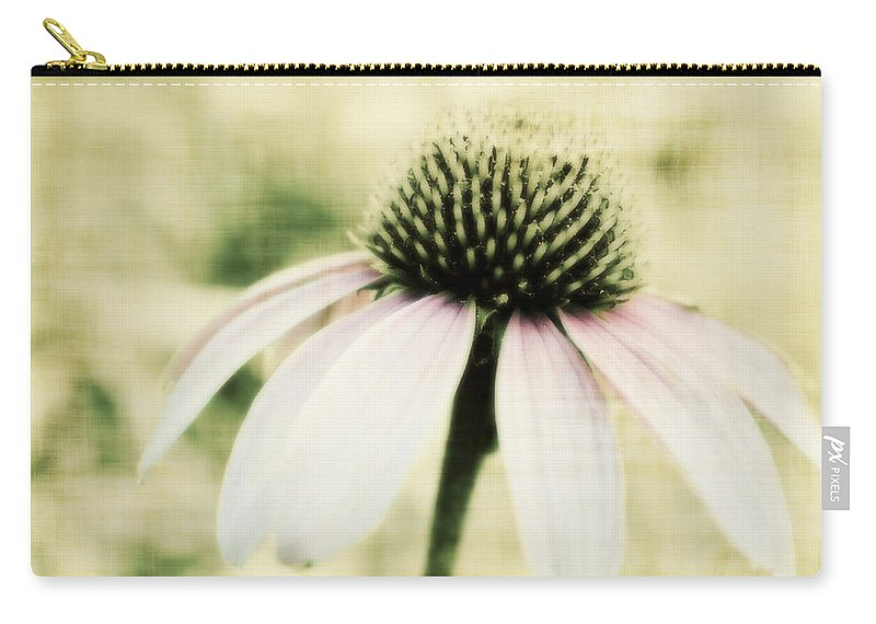 Flower Carry-all Pouch featuring the photograph Pink Flower by Julie Hamilton