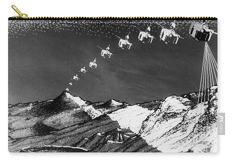 1978 Carry-all Pouch featuring the photograph Pioneer Venus 1, 1978 by Granger