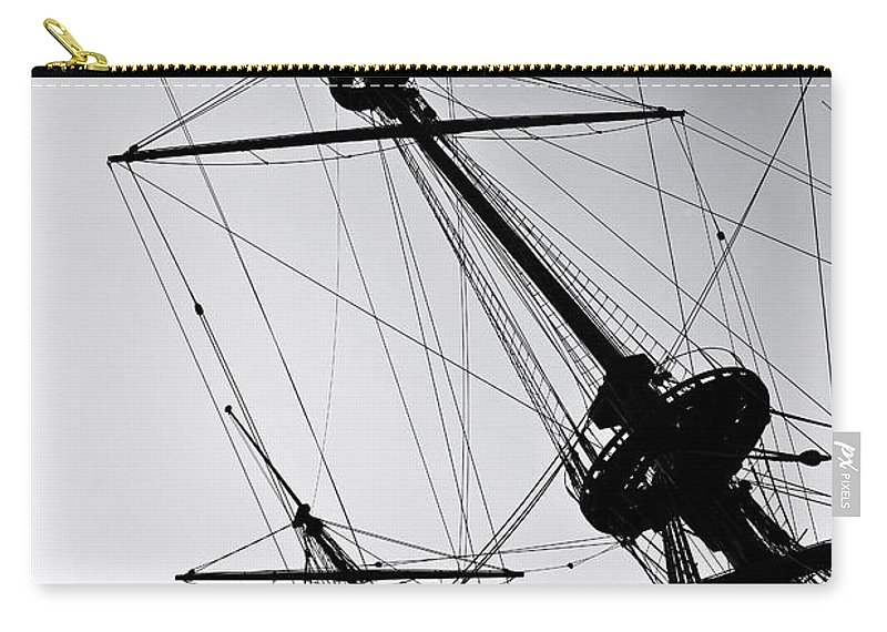 Mast Carry-all Pouch featuring the photograph Pirate Ship by Joana Kruse