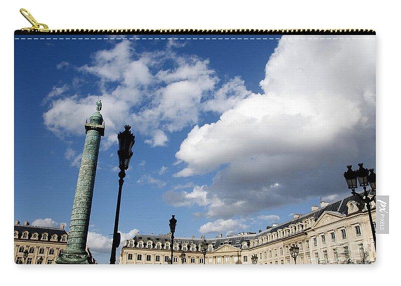 Paris Carry-all Pouch featuring the photograph Place Vendome. Paris. France. by Bernard Jaubert