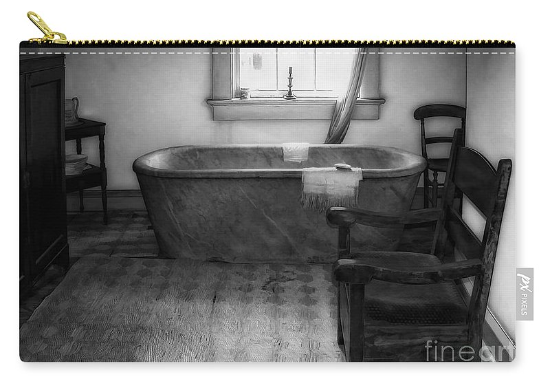 Plantation Carry-all Pouch featuring the photograph Plantation Bath by Kathleen K Parker
