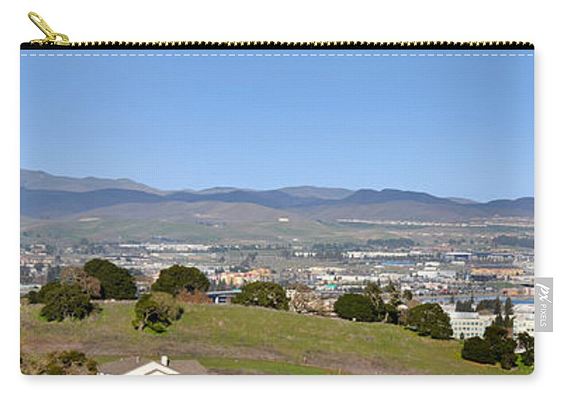 Pleasanton Ca. Carry-all Pouch featuring the photograph Pleasanton by Karen W Meyer