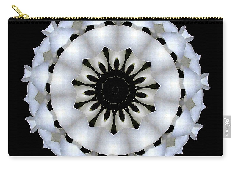 Digital Design Carry-all Pouch featuring the photograph Plumeria 4 by Mark Gilman
