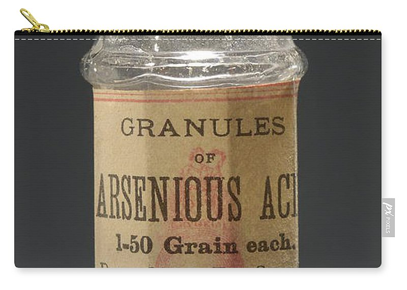 Science Carry-all Pouch featuring the photograph Poison Circa 1900 by Science Source