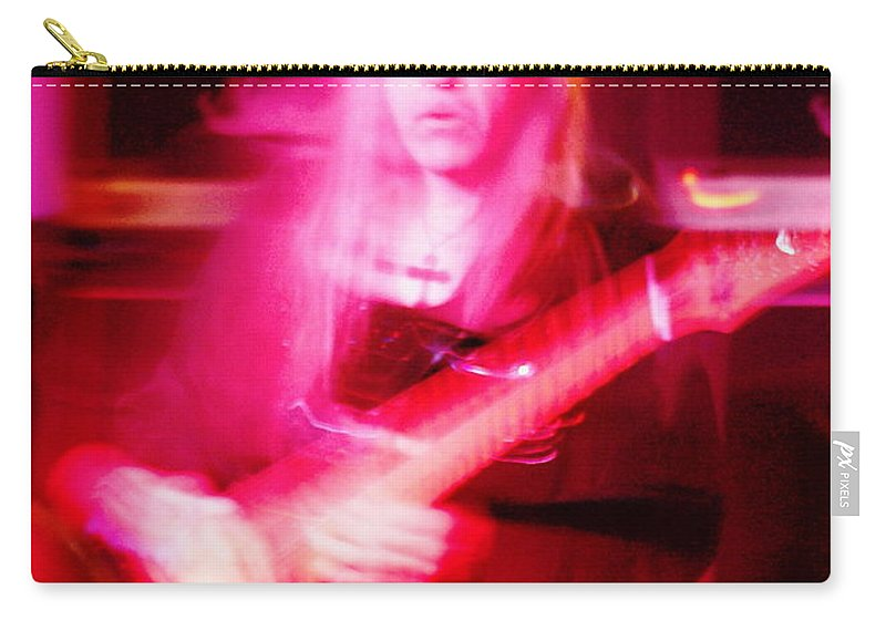 Uli Jon Roth Carry-all Pouch featuring the photograph Polar Nights With Uli by Ben Upham