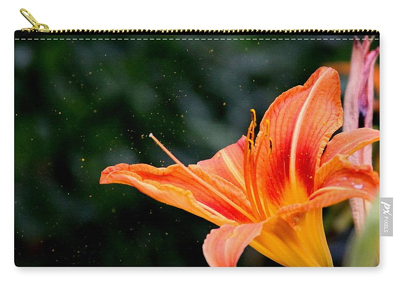Carry-all Pouch featuring the photograph Pollen Flying by Travis Truelove