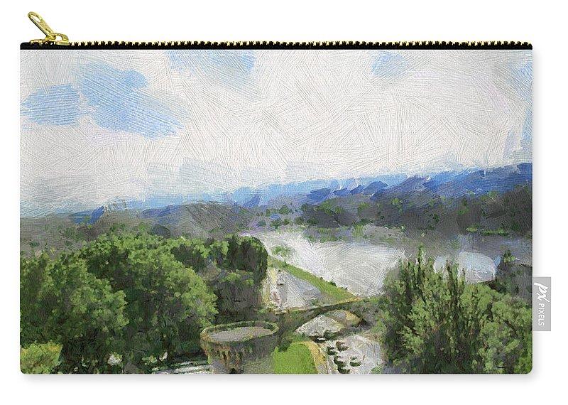 Nature Carry-all Pouch featuring the photograph Pont De St Benezet - Avignon by Paulette B Wright