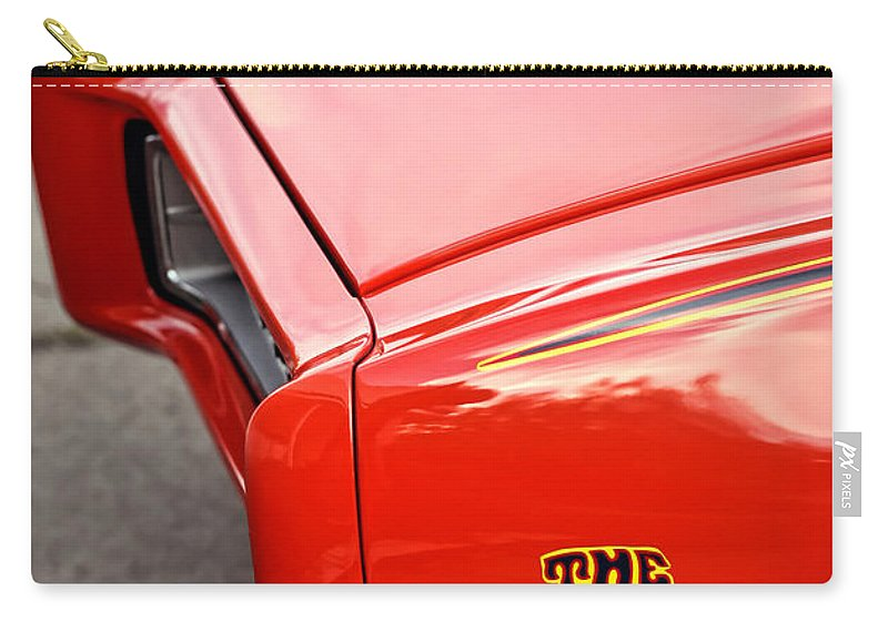 Pontiac Carry-all Pouch featuring the photograph Pontiac Gto - The Judge by Gordon Dean II