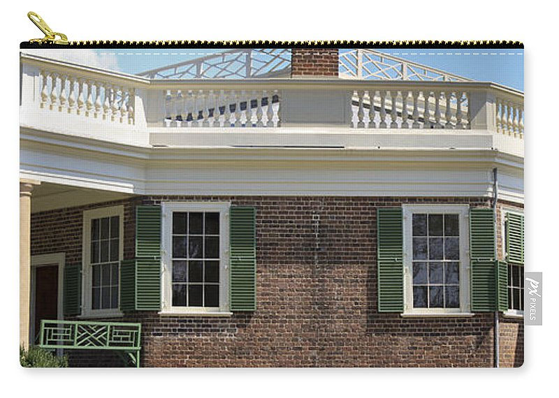 Poplar Forest Carry-all Pouch featuring the photograph Poplar Forest by Teresa Mucha