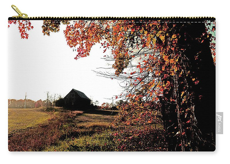 Autumn Carry-all Pouch featuring the photograph Portrait Of Autumn by La Dolce Vita