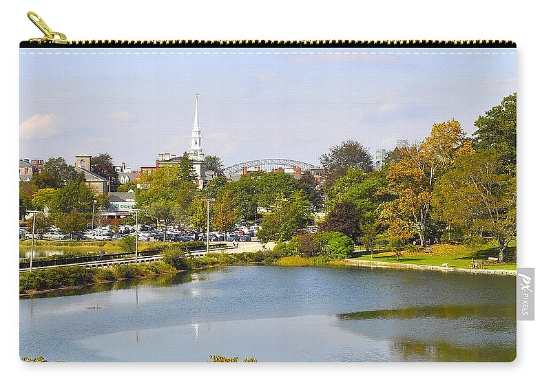 Portsmouth Carry-all Pouch featuring the photograph Portsmouth Nh Pnhp by Jim Brage