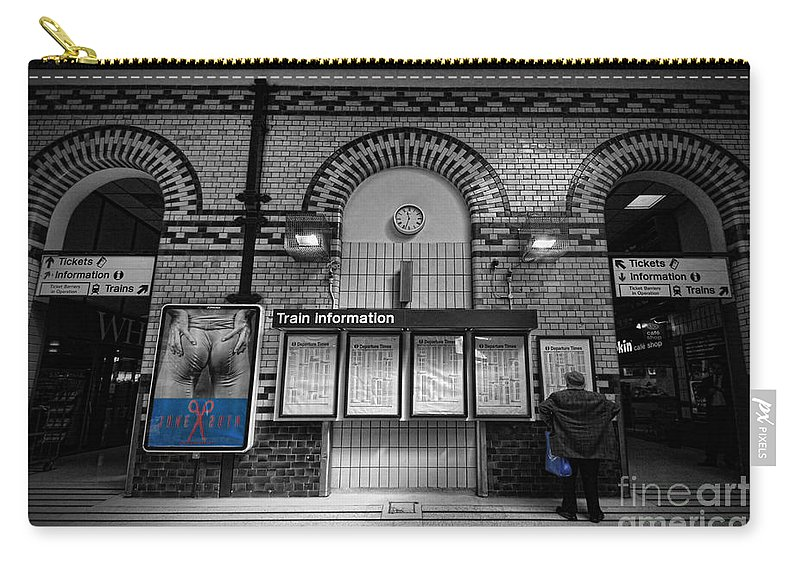 Yhun Suarez Carry-all Pouch featuring the photograph Poster Boy by Yhun Suarez