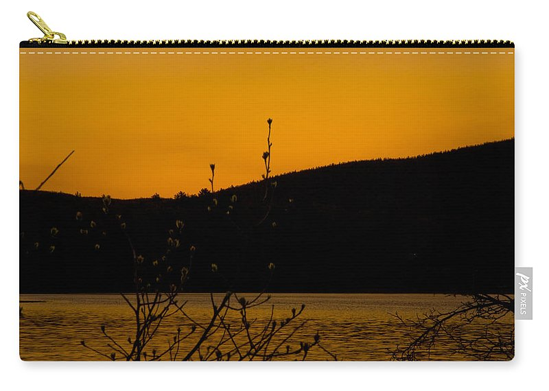 predawn Hour Carry-all Pouch featuring the photograph Predawn Hour by Paul Mangold