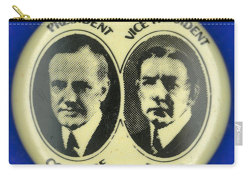 1924 Carry-all Pouch featuring the photograph Presidential Campaign, 1924 by Granger