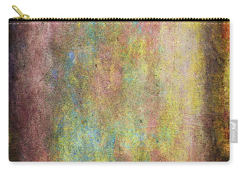 Abstract Carry-all Pouch featuring the painting Pretty In Pink by Julie Niemela