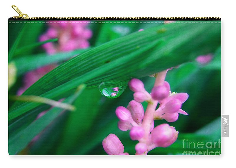 Landscape Carry-all Pouch featuring the photograph Pretty In Pink by Peggy Franz