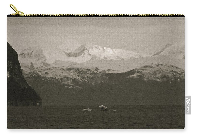 Alaska Carry-all Pouch featuring the photograph Prince William Sound by Roger Wedegis